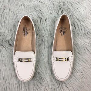 New life Stride viana cream loafers 10